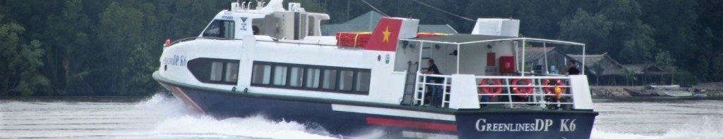 The ferry from Saigon (Ho Chi Minh City) to Vung Tau, Vietnam