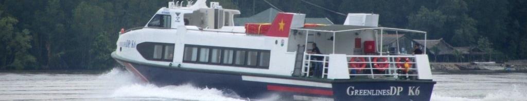 Saigon-Vung Tau ferry boat, Vietnam