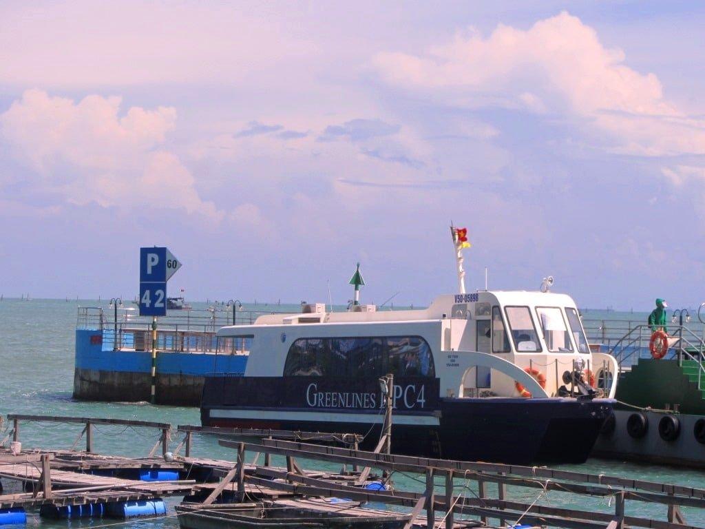 Greenlines Saigon-Vung Tau ferry boat, Vietnam