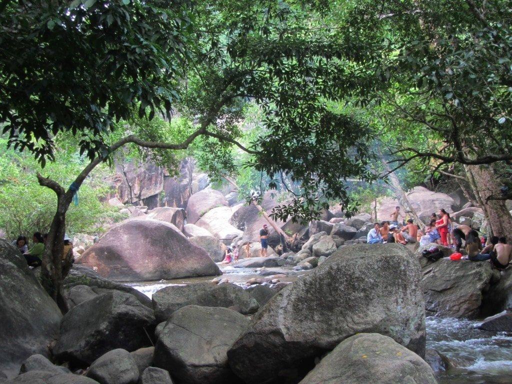 Thac Ba Waterfall, Binh Thuan Province, Vietnam
