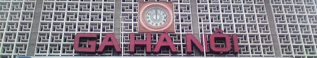 Hanoi railway station, Vietnam