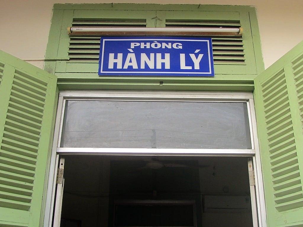 Sending your motorbike on the train, Vietnam