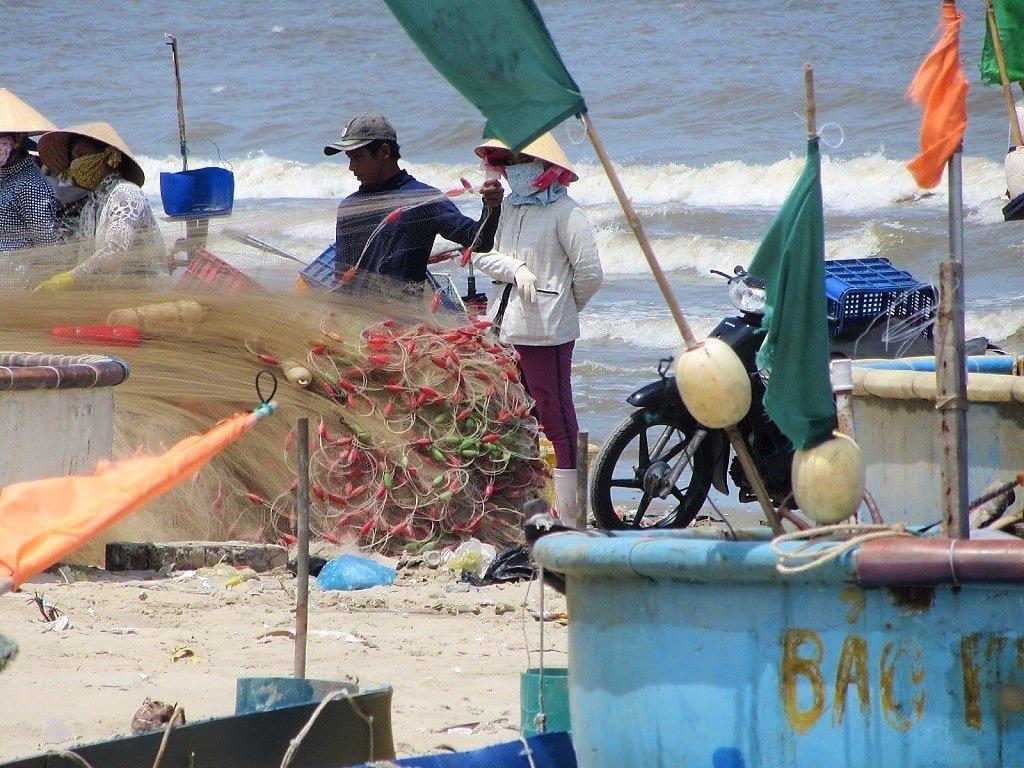 Long Hai Beach, the Ocean Road, Vietnam