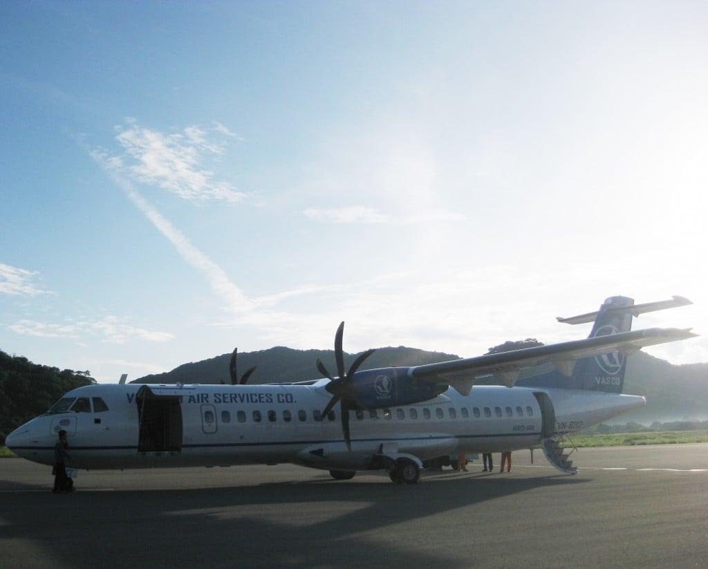 Fly from Saigon to Rach Gia