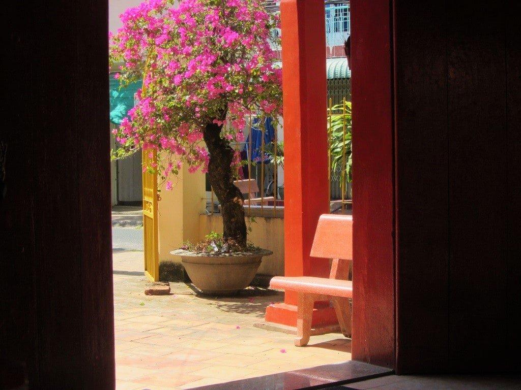 Ba Ma Chau temple, Ha Tien, Vietnam