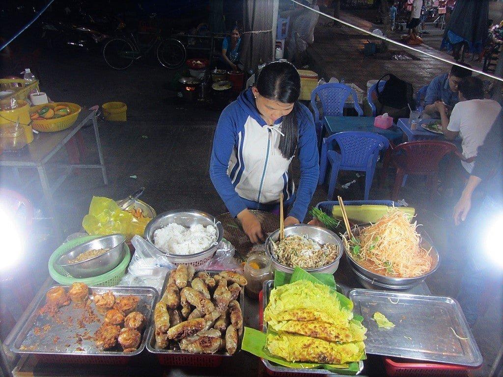 Street food, Ha Tien, Mekong Delta, Vietnam