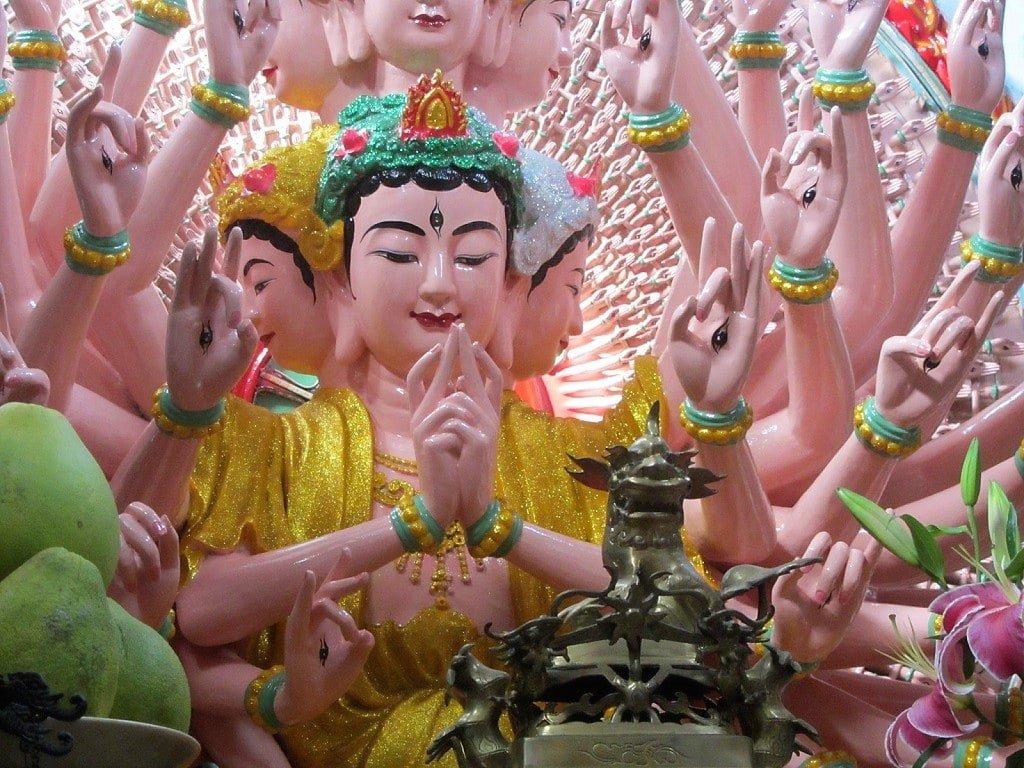 Tam Bao temple, Ha Tien, Mekong Delta, Vietnam