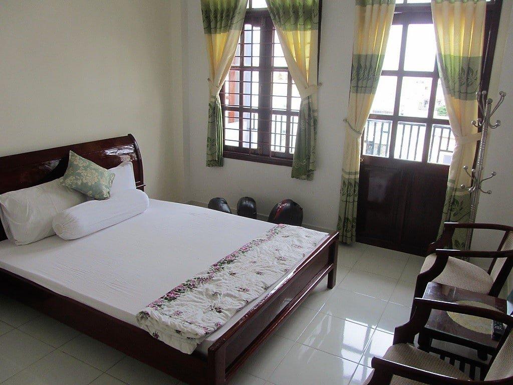 Room at Hai Phuong Hotel, Ha Tien, Kien Giang Province, Vietnam