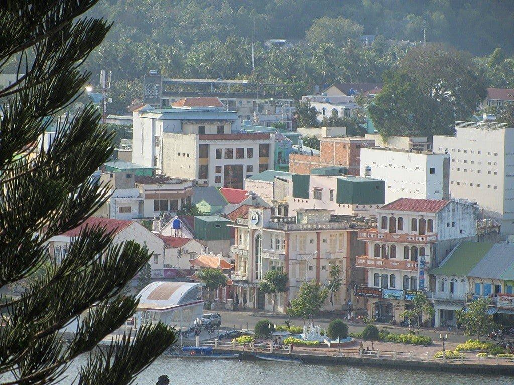 Ha Tien's waterfront, Kien Giang Province, Mekong Delta, Vietnam