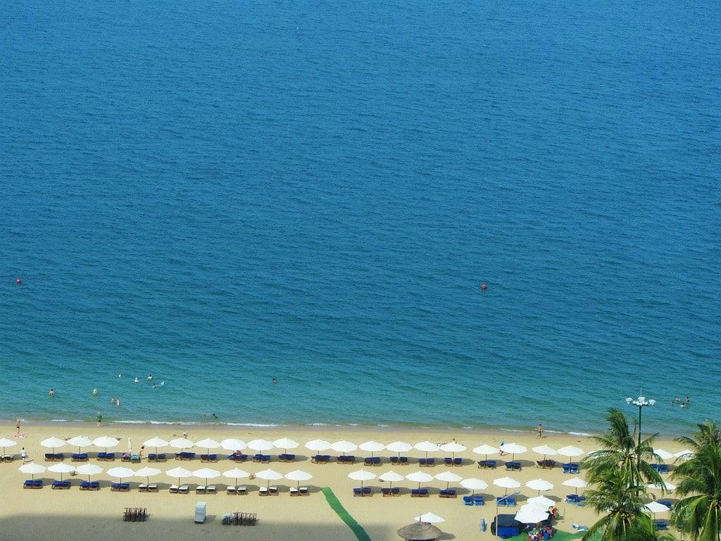Liberty Central Nha Trang hotel's beach