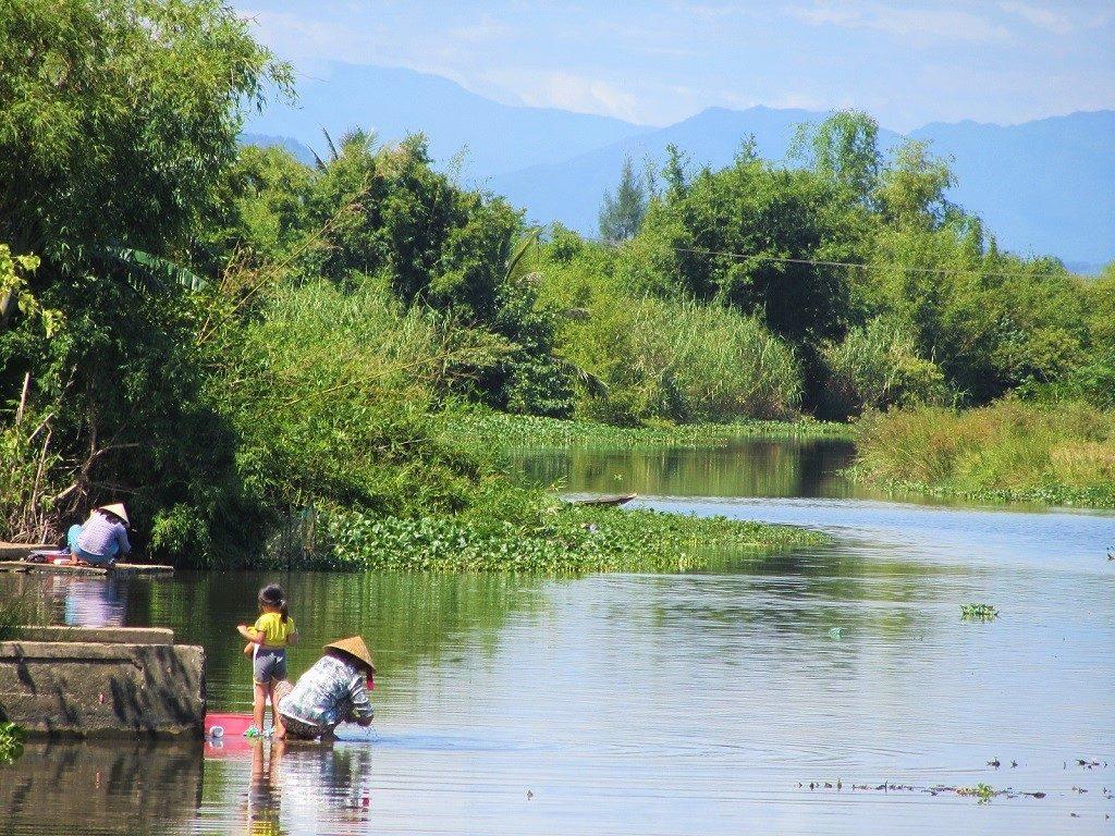Along the Pho Loi River, Hue, Vietnam