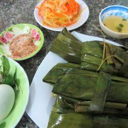 Bánh nậm in Dong Hoi, Vietnam