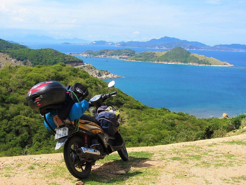 The top of the Nui Chua Coast Road, Cam Ranh Bay, Vietnam