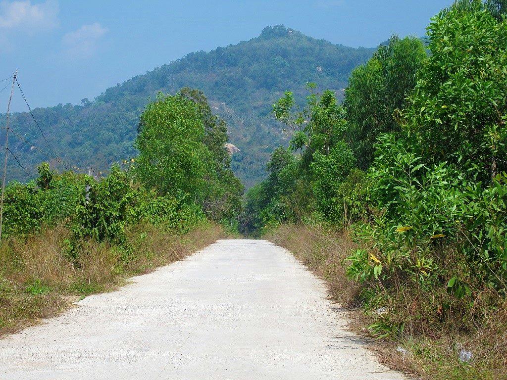 The road to Suoi Da Spring, Núi Dinh Mountain, Ba Ria, Vietnam