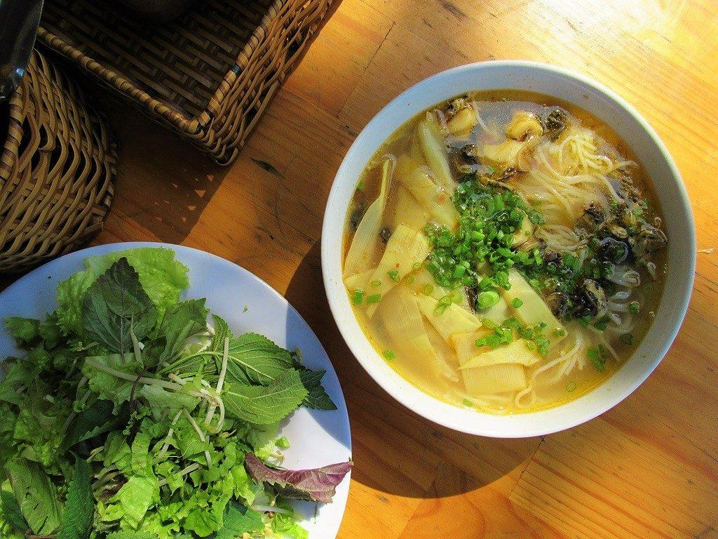 Bún ốc - snail noodle soup - in Nha Trang, Vietnam