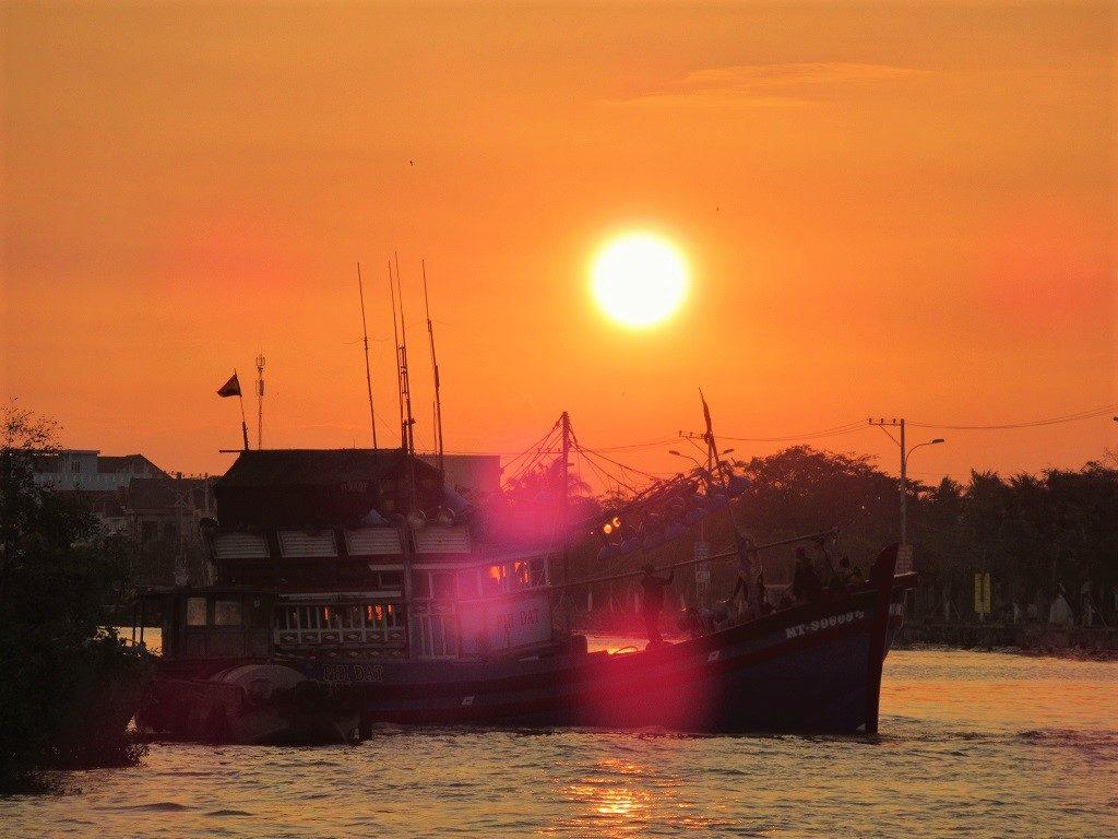 Tran De Port, Soc Trang Province, Mekong Delta, Vietnam