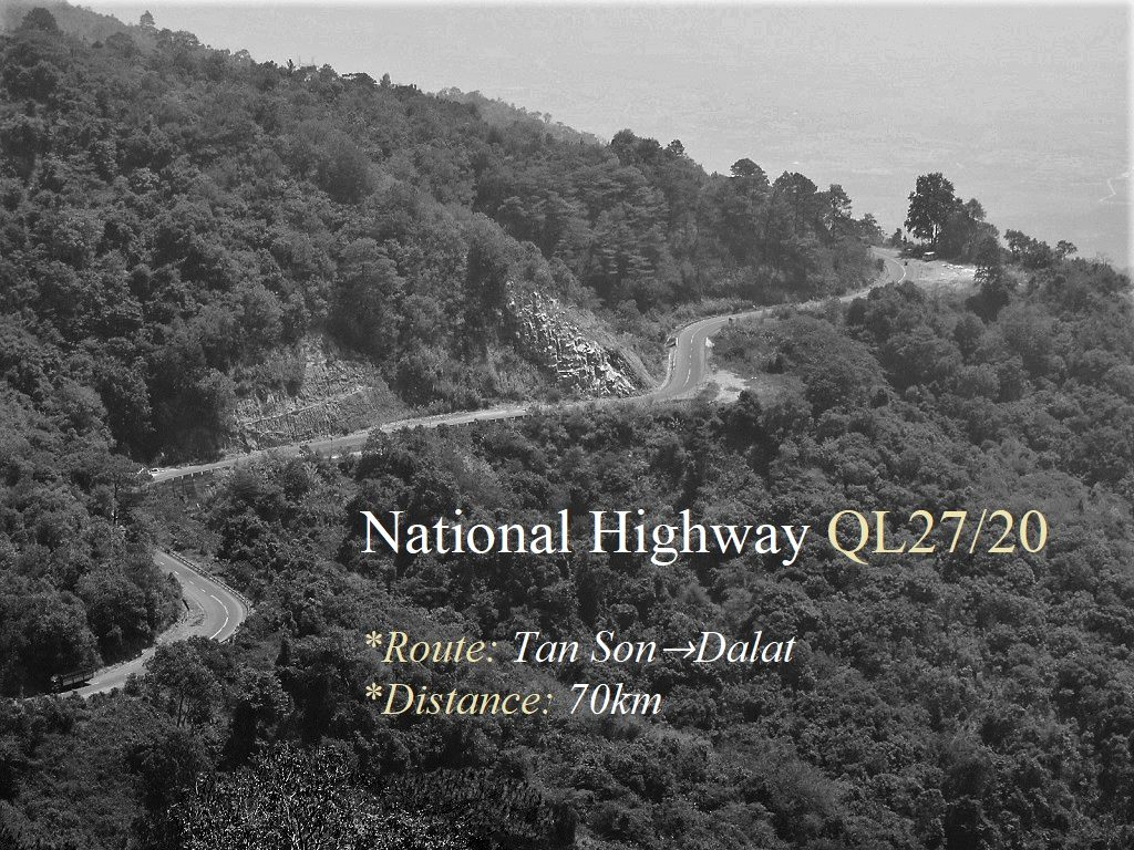 National Highway QL27/20, Lam Dong Province, Vietnam