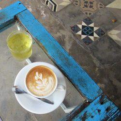 Cafe Culture on Con Son Island