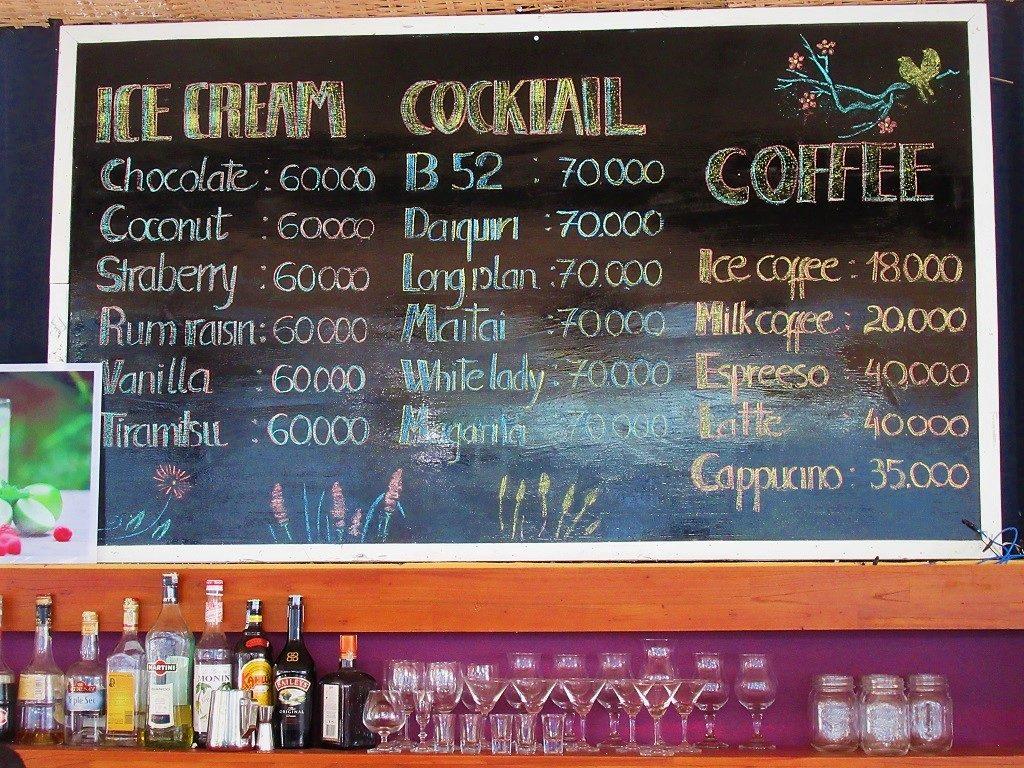 Cafe Con Son, Con Dao Islands, Vietnam