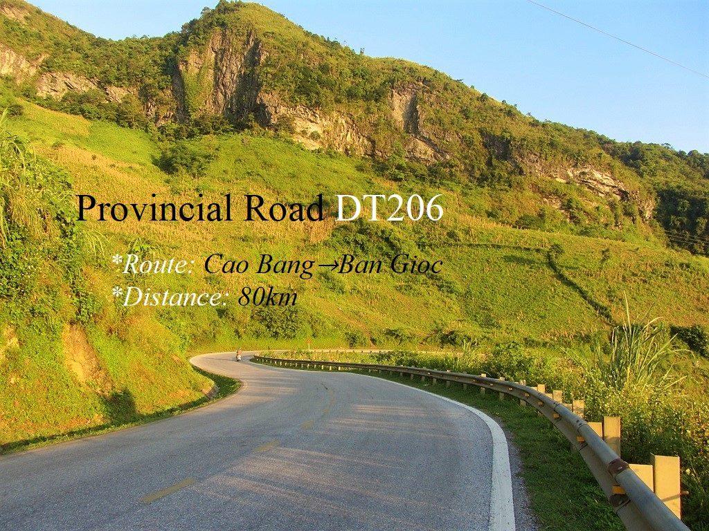 Provincial Road DT206/QL3, Cao Bang Province, Vietnam