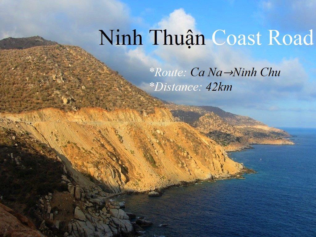 Ninh Thuan Coast Road, Ca Na to Ninh Chu, Vietnam