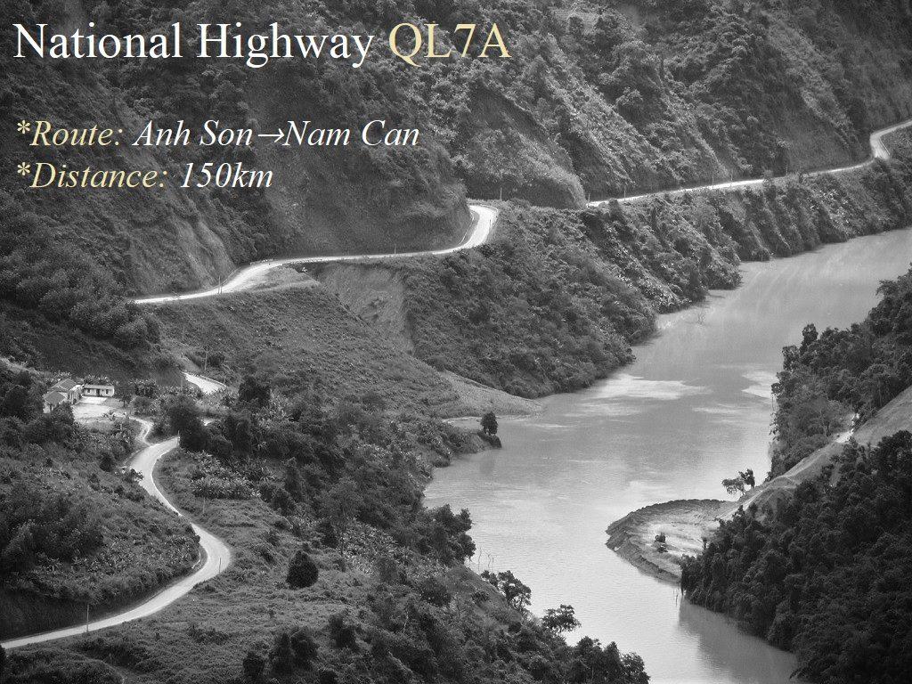 National Highway QL7A, Nghe An Province, Vietnam
