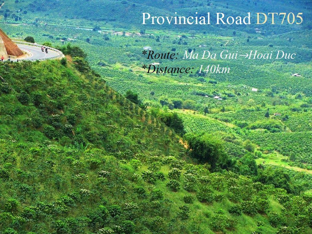 Provincial Road DT705, Lam Dong Province, Vietnam