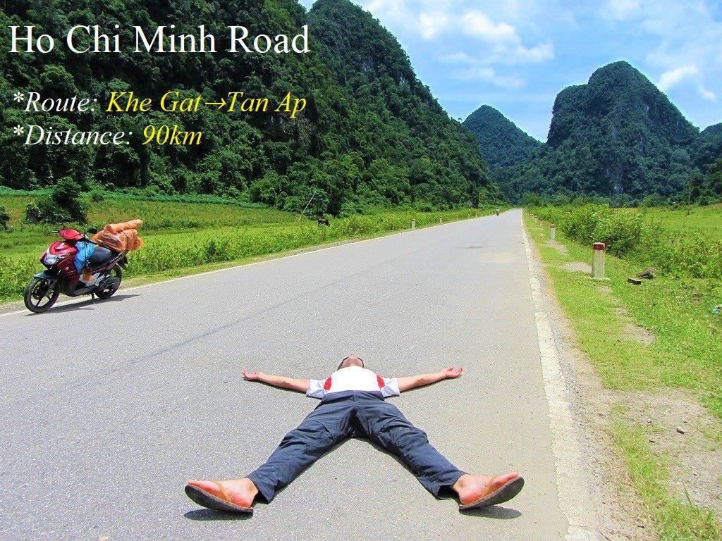 The Ho Chi Minh Road, Khe Ghat to Tan Ap, Vietnam