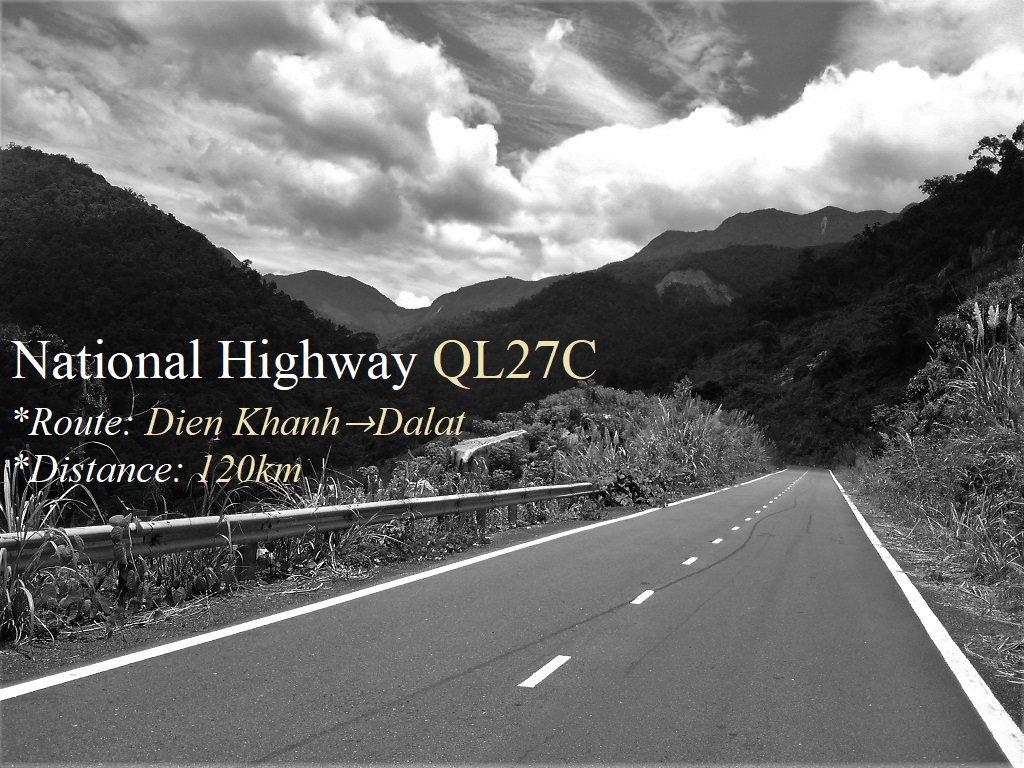 National Highway QL27C, Nha Trang to Dalat, Vietnam