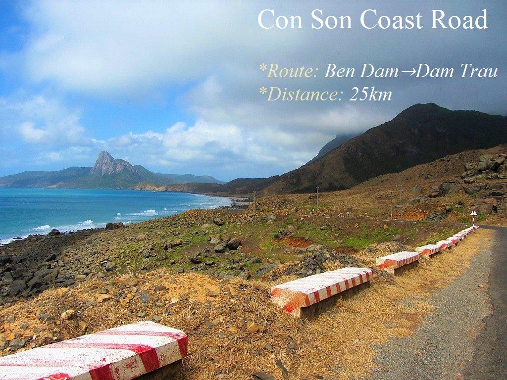 Con Son Island Coast Road, Con Dao, Vietnam