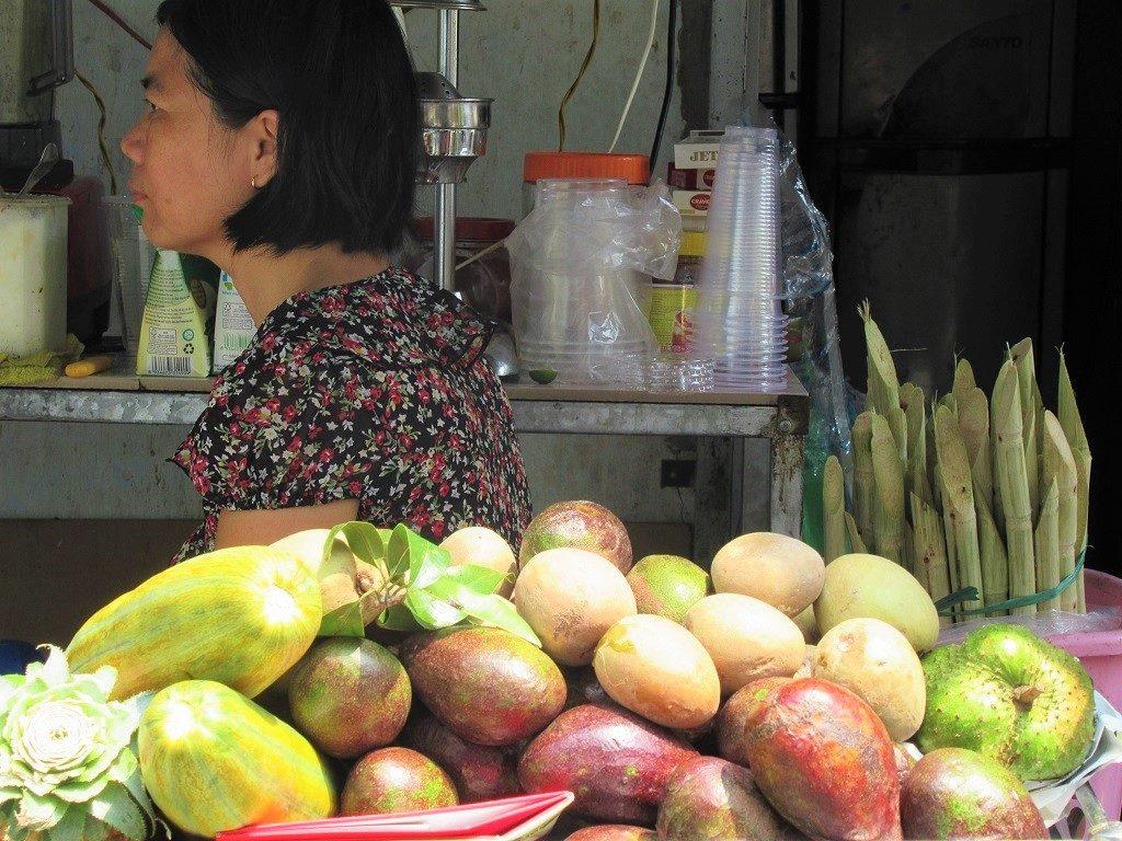 The Juice Lady, Saigon, Ho Chi Minh City, Vietnam