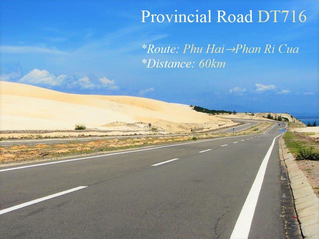 Provincial Road DT716, White Sand Dunes, Mui Ne, Vietnam