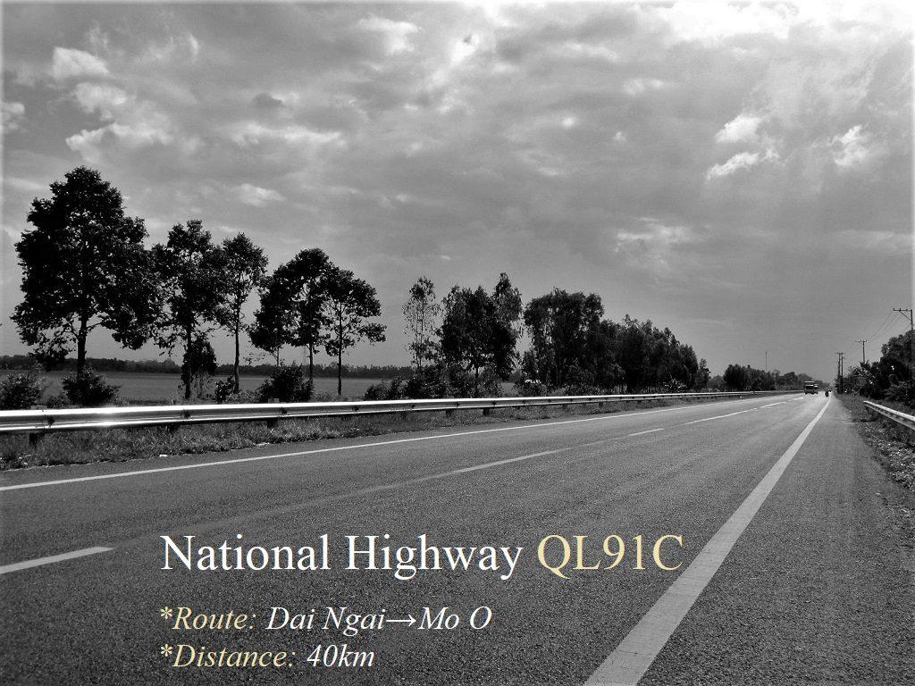 National Highway QL91C, Soc Trang Province, Vietnam
