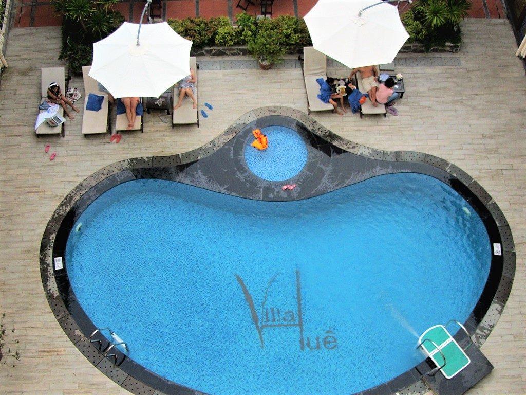 Swimming pool, Villa Hue Hotel, Hue City, Vietnam