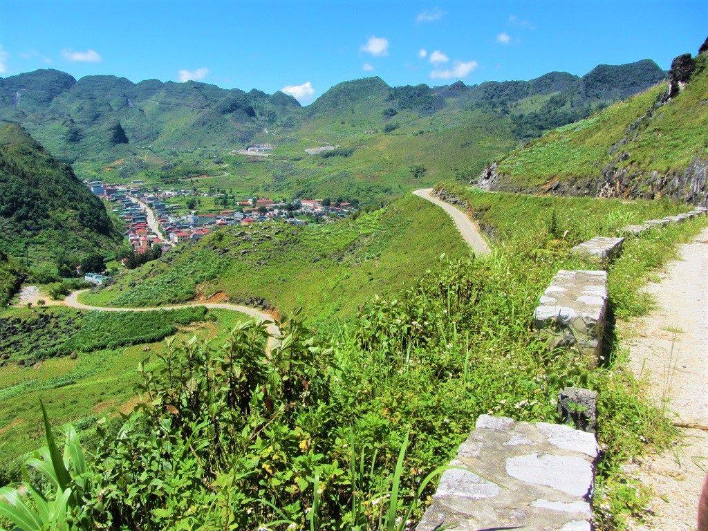 Road DT217 between Meo Vac & Bao Lac, Ha Giang Province, Vietnam