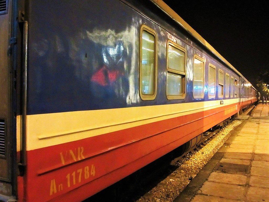 The Fanxipan Express, sleeper train, Hanoi to Lao Cai, Vietnam