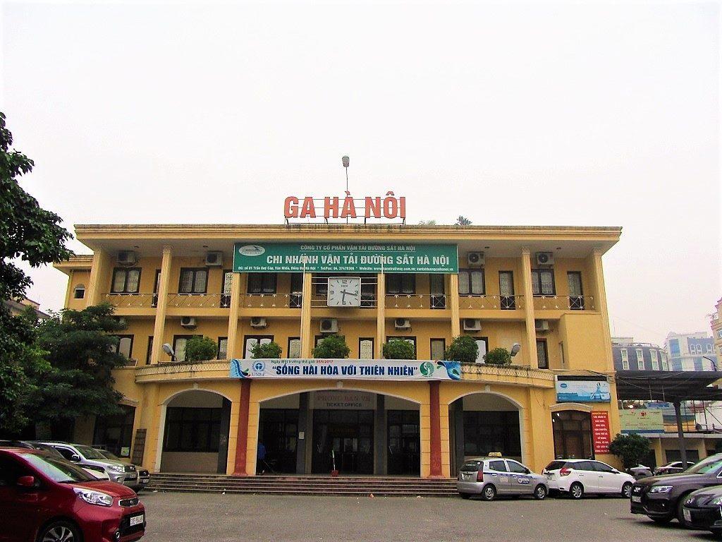 Tran Quy Cap train station (Hanoi station B), Vietnam