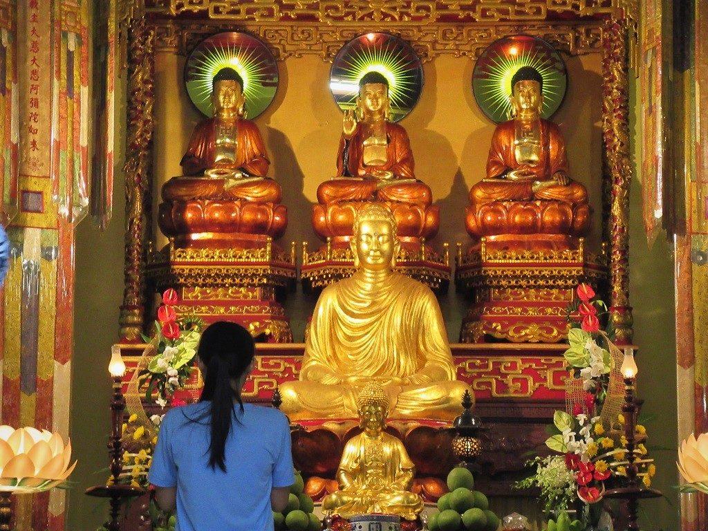 Van Hanh Zen Buddhish temple, Saigon, Vietnam