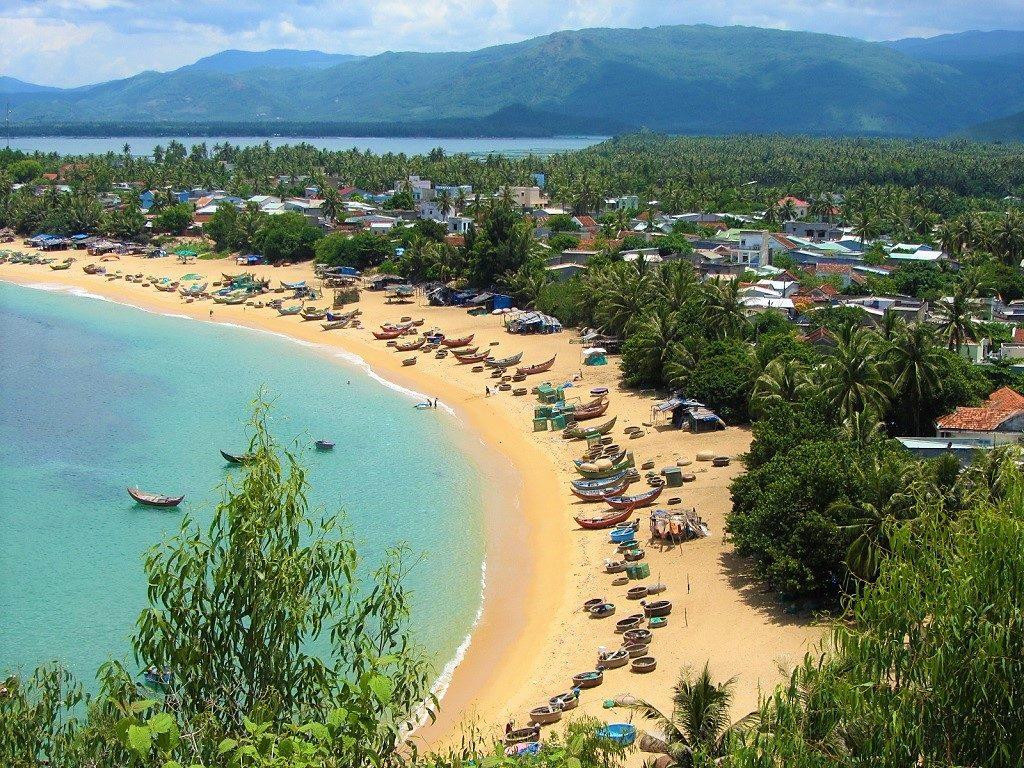 Xuan Hai beach, Phu Yen Province, Vietnam