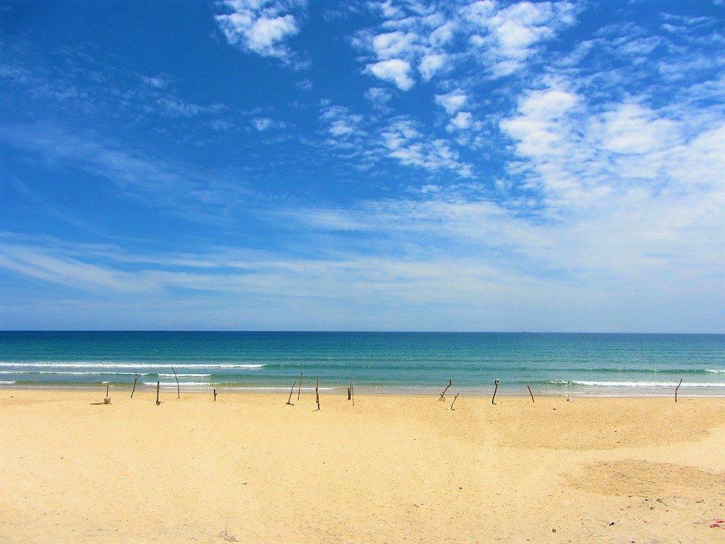 Tuy Hoa beach, Tuy Hoa city, Phu Yen Province, Vietnam