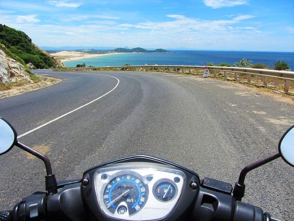 The coast road between Vung Ro Bay & Tuy Hoa, Phu Yen, Vietnam