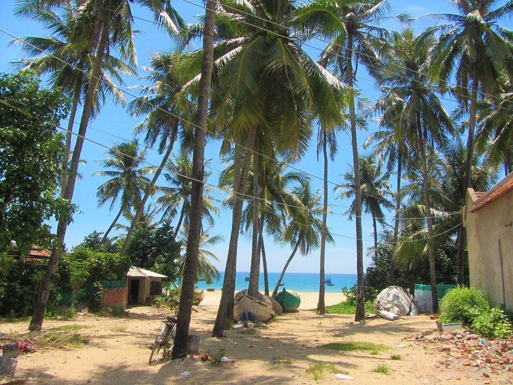 Long Thuy beach, Phu Yen Province, Vietnam
