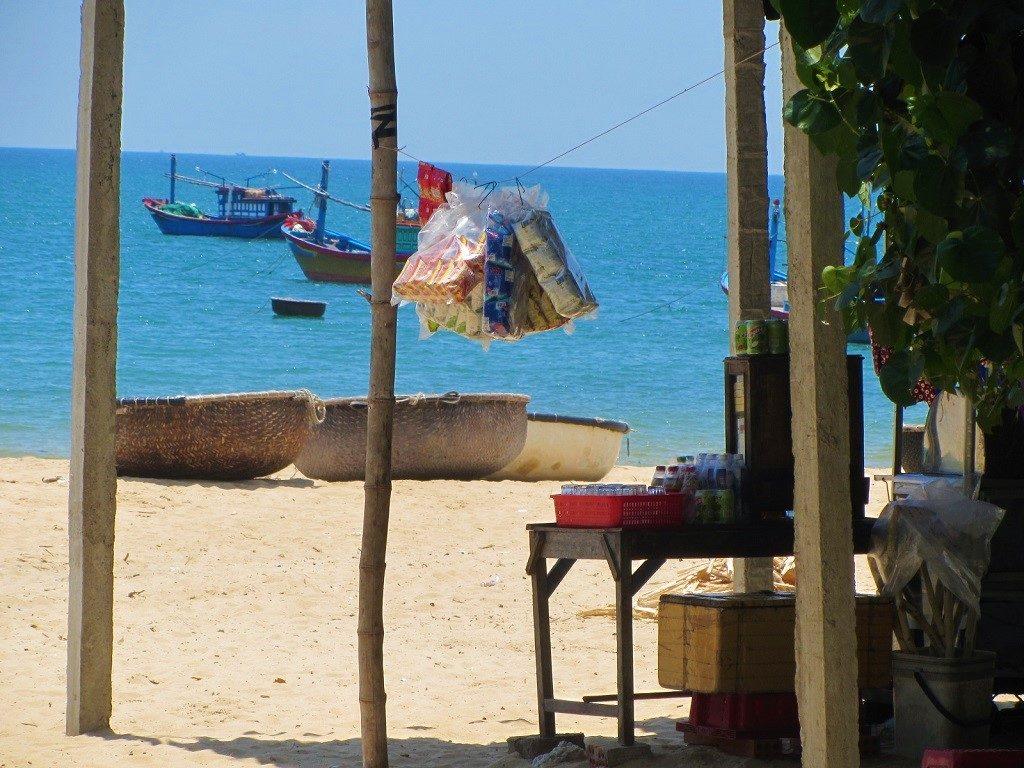 Bai Xep beach, Phu Yen Province, Vietnam