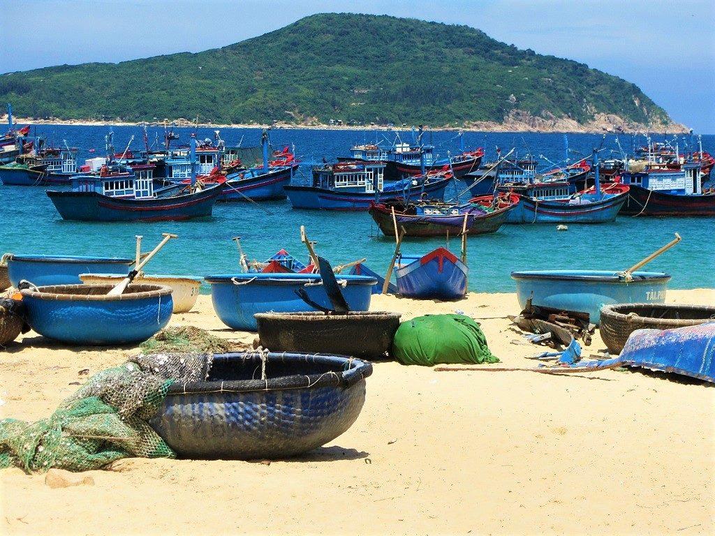 An Hai beach, Phu Yen Province, Vietnam