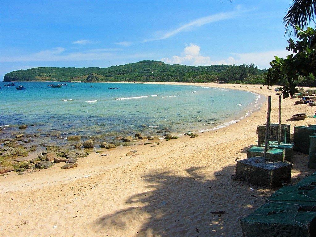Da Dia beach, Phu Yen Province, Vietnam