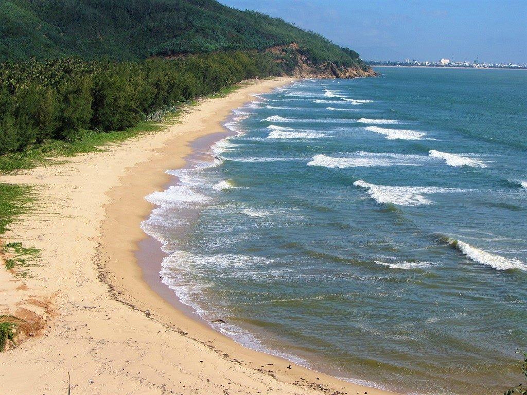 Quy Hoa beach, Quy Nhon, Binh Dinh, Vietnam
