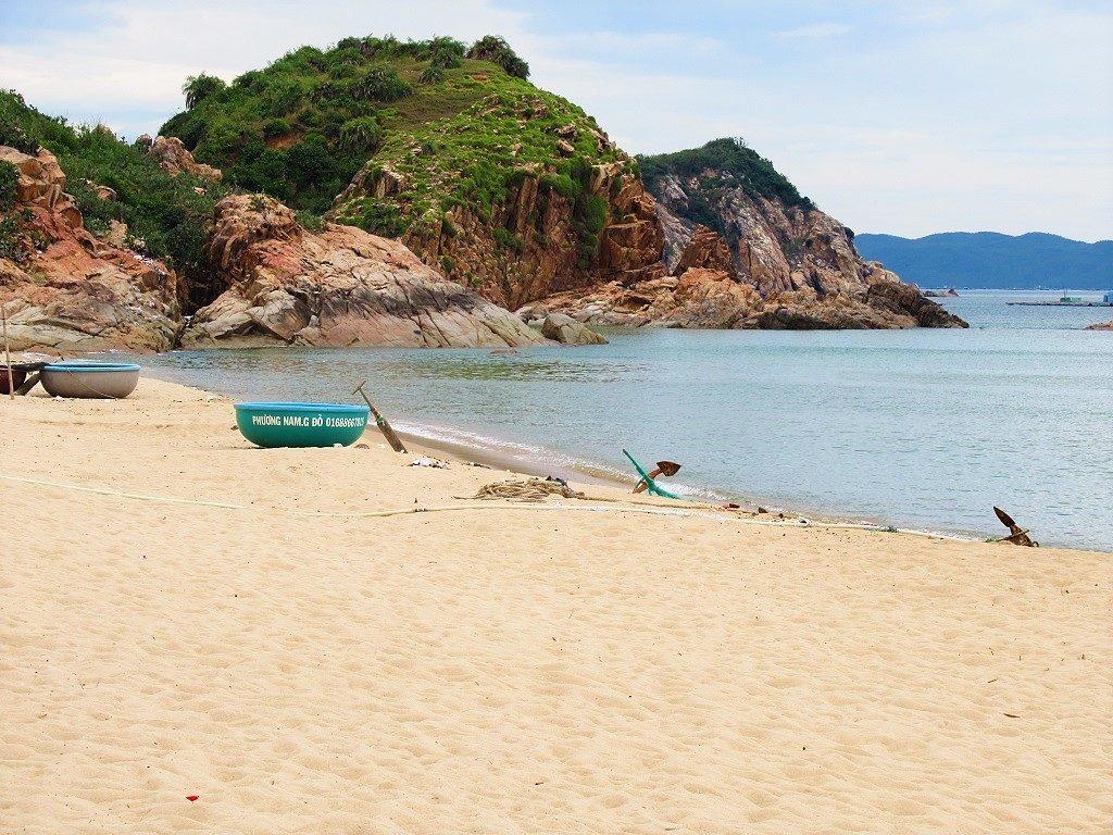 Ganh Do beach, Phu Yen Province, Vietnam