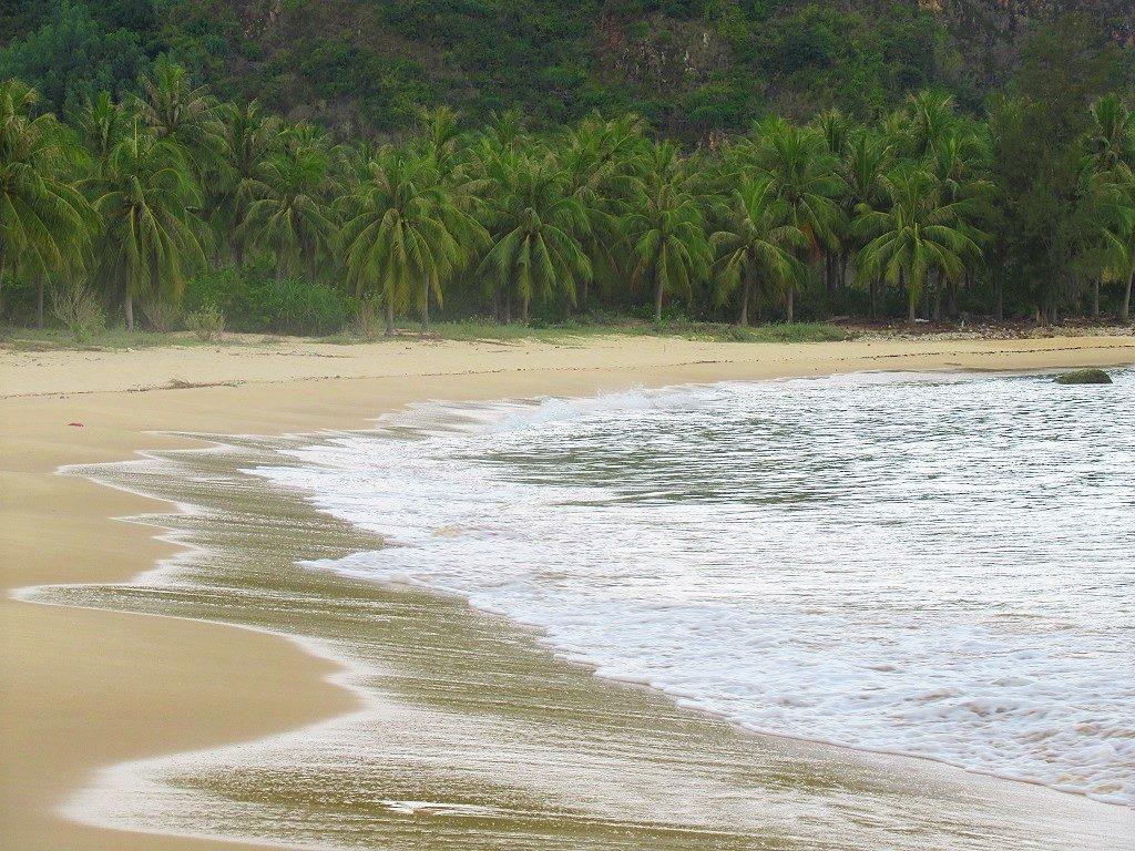 Bai Om beach, Xuan Thinh Peninsular, Phu Yen Province, Vietnam