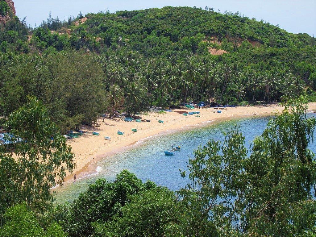 Bai Rang beach, Phu Yen Province, Vietnam