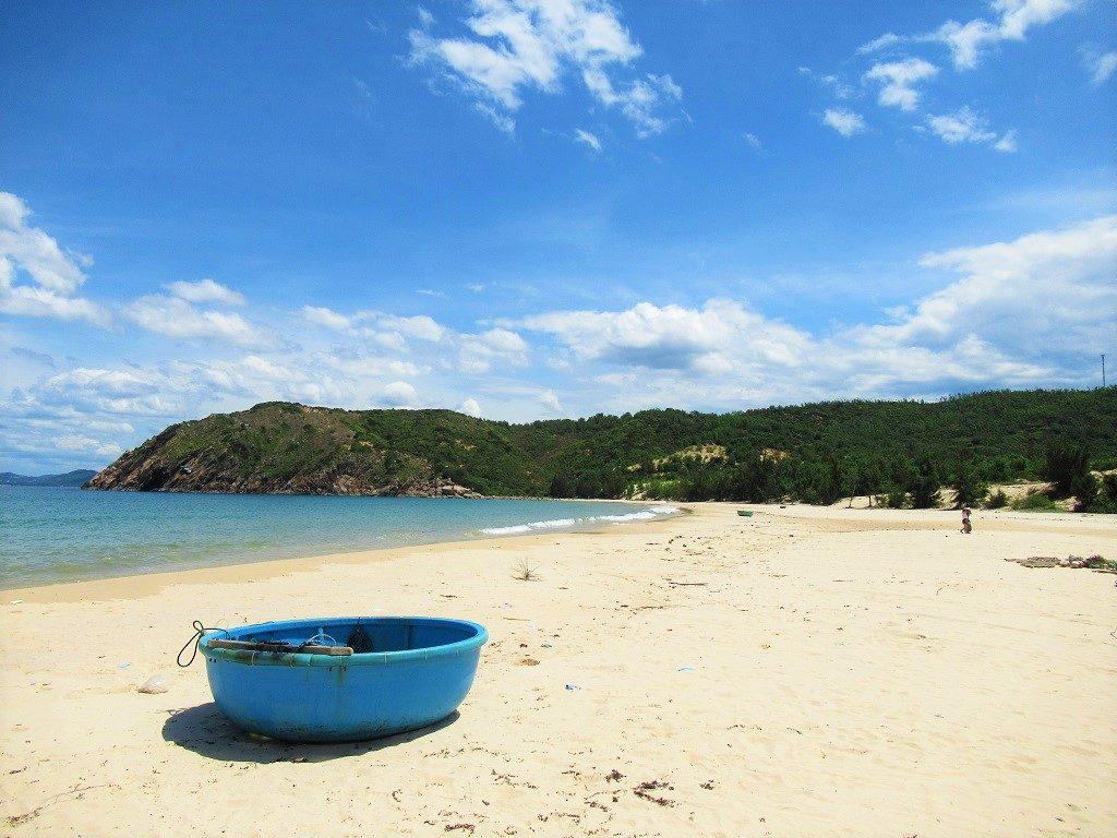 Bai Nom beach, Vinh Cuu Peninsular, Phu Yen Province, Vietnam
